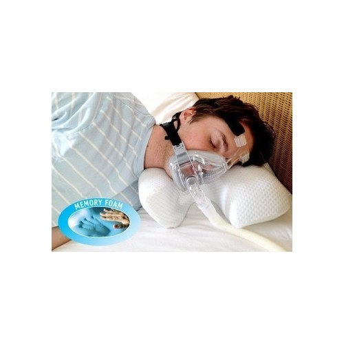 Oreiller pour porteur CPAP