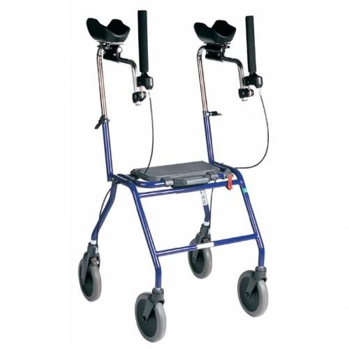 Rollator 4 roues Alpha Basic