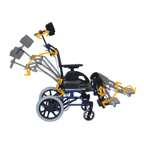 Fauteuil roulant Netti Dynamic System